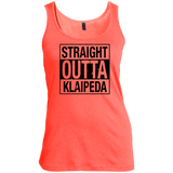Outta Klaipeda -- Gals Scoop Neck Tank