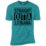 Outta Lithuania -- Guys Next Level Premium T-Shirt