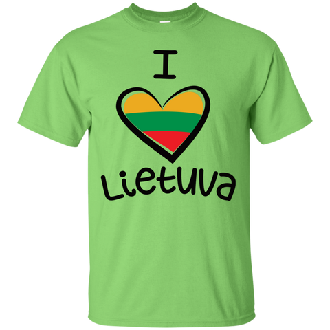 I Love Lietuva -- Guys T-Shirt