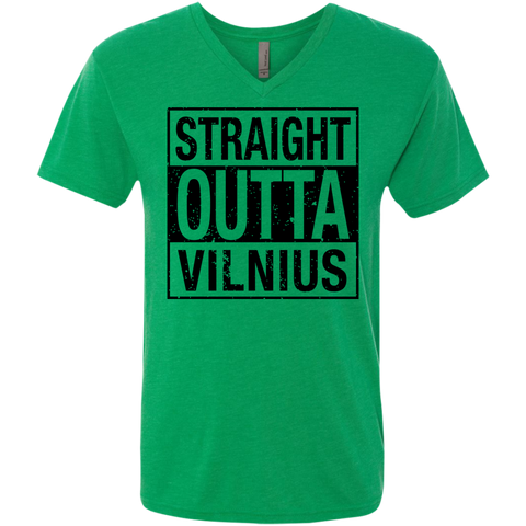 Outta Vilnius -- Guys Next Level V-Neck