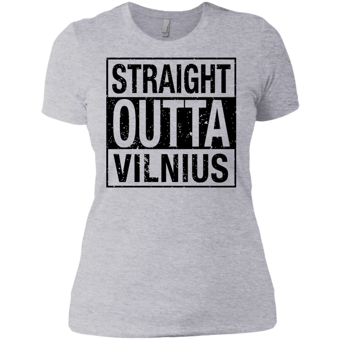 Outta Vilnius -- Gals Next Level Boyfriend Tee