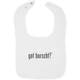 Got Borscht -- Infant Snap Bib