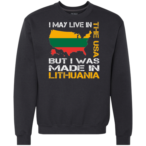 Made in Lithuania -- Guys/Gals Heavyweight Crewneck Sweatshirt