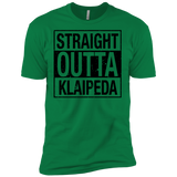 Outta Klaipeda -- Guys Next Level Premium T-Shirt