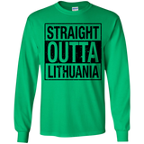 Outta Lithuania -- Youth Boys/Girls Long Sleeve