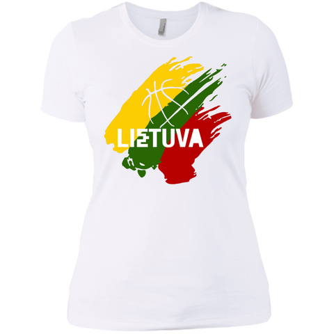 Lietuva BB -- Gals Next Level Boyfriend Tee