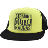 Outta Kaunas -- Trucker Hat with Snapback
