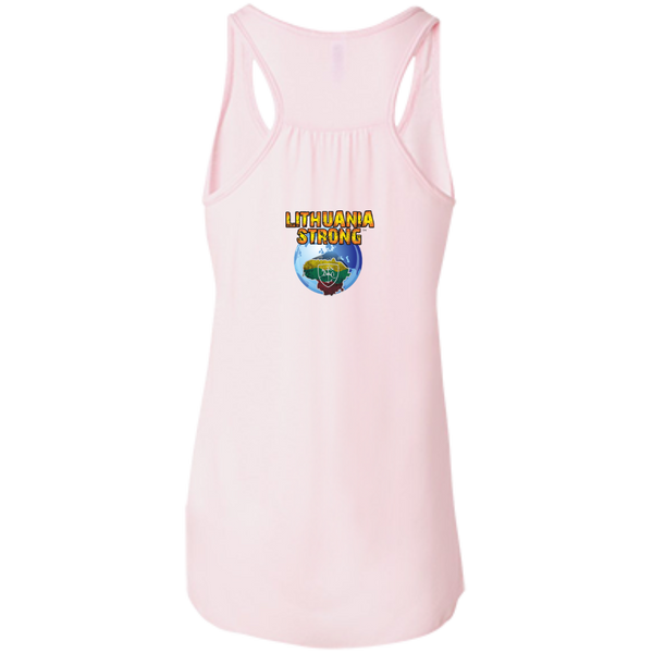 Outta Klaipeda -- Bella+Canvas Juniors Girls Racerback Tank