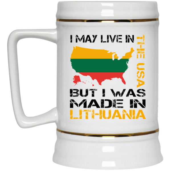 Made in Lithuania -- Ceramic Stein