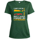 Made in Lithuania -- Gals Heather Dri-Fit Moisture-Wicking Performance