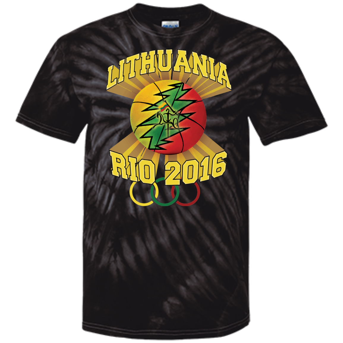 Rio Olympic Basketball -- Guys/Gals Tie Dye