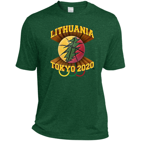 Lithuania Basketball Tokyo 2020 - Guys Dri-Fit Moisture-Wicking T-Shirt