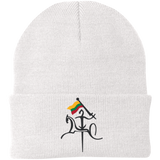 Vytis w/ Flag -- Embroidered Knit Cap