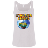 Lithuania Strong-- Gals Relaxed Jersey Tank