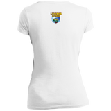 Olympic Medalist -- Juniors Girls Vintage V-Neck Tee