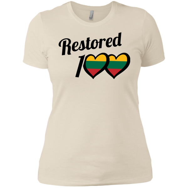 Restored 100 (Love) -- Moterims Boyfriend Tee