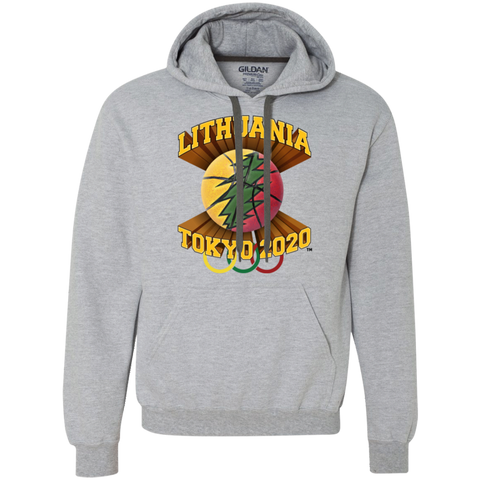 Lithuania Basketball Tokyo 2020 -- Guys/Gals Heavyweight Hoodie