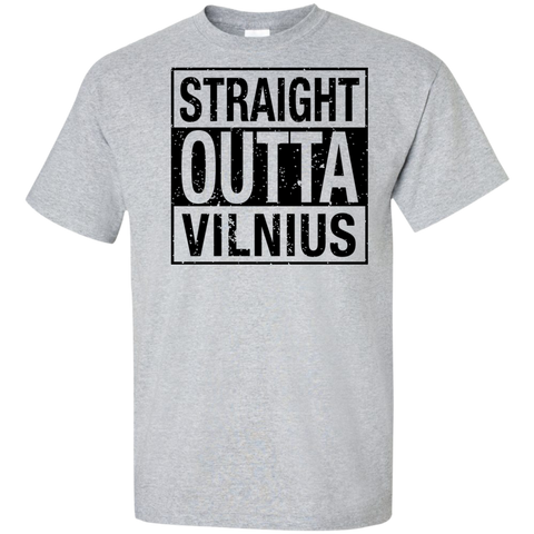Outta Vilnius -- Guys Tall T-Shirt