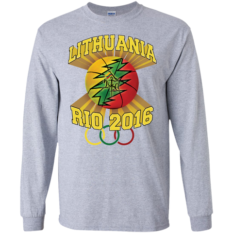Rio Olympic Basketball -- Guys Long Sleeve