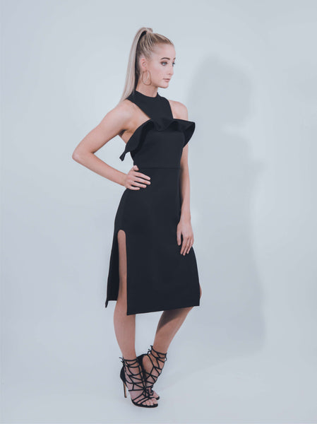 Golden Age Dress in Black