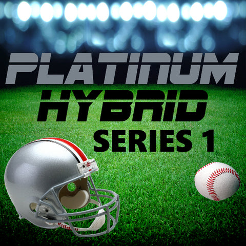 PLATINUM HYBRID SERIES BREAK #4 (INCLUDES MINIMUM OF ONE FULL-SIZE AUTO HELMET!!!)