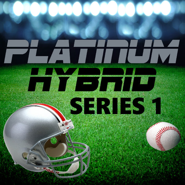 PLATINUM HYBRID SERIES BREAK #5 (INCLUDES MINIMUM OF ONE FULL-SIZE AUTO HELMET!!!)