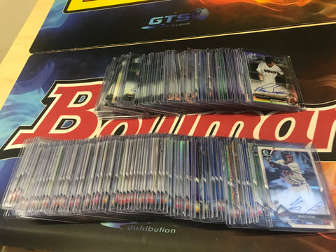 BOWMAN/TOPPS/PANINI ALL AUTOGRAPHS BREAK #3