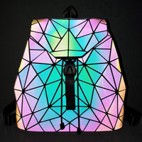 Holographic Color-Changing Backpack