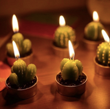Cactus Tea Lights (6 PCS)