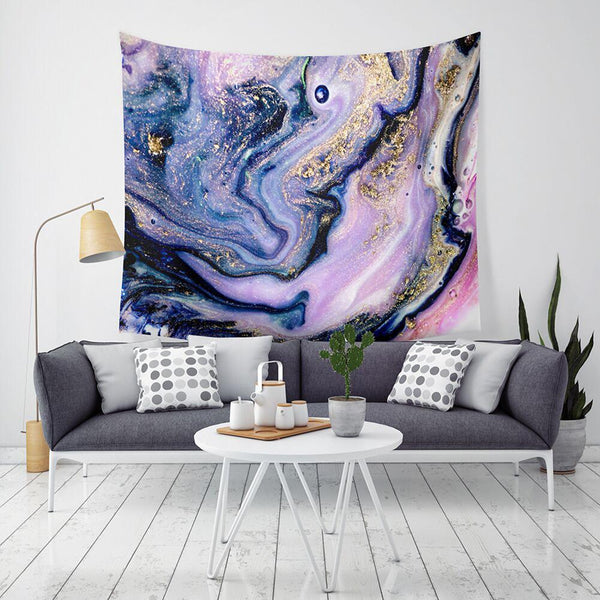 Marble Swirl Tapestry