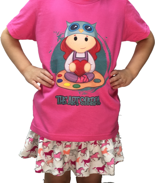 Kawaii Sherpa Kids T-Shirt - The Sherpa Shop