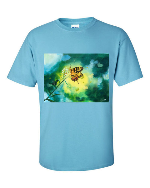 Bokeh Butteful Short sleeve t-shirt