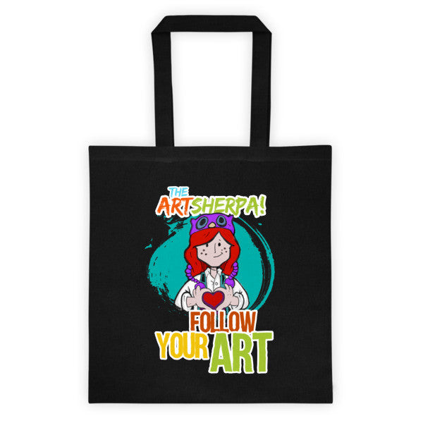 Follow Your Art Tote bag