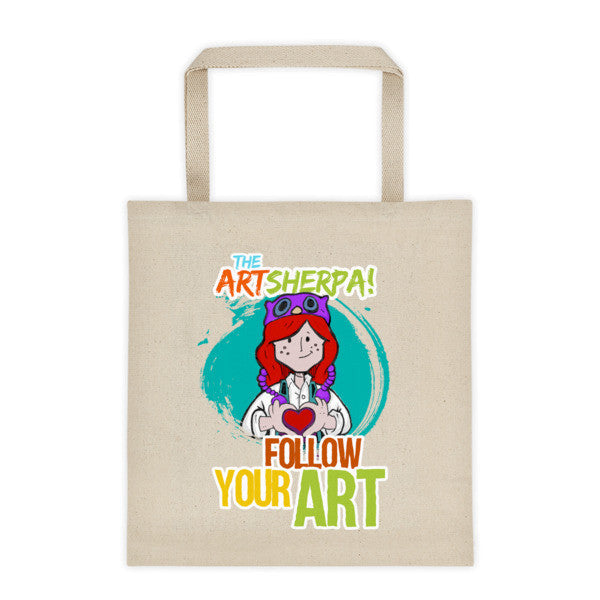 Follow your Art, 12 oz. Tote bag