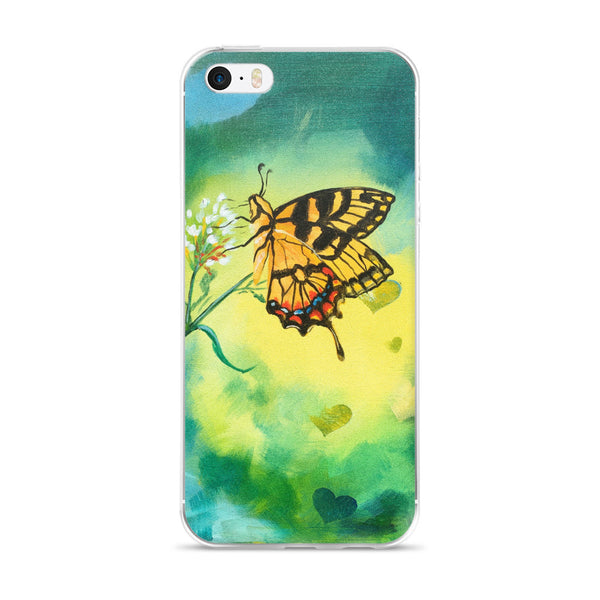 Bokeh Butterfly iPhone case