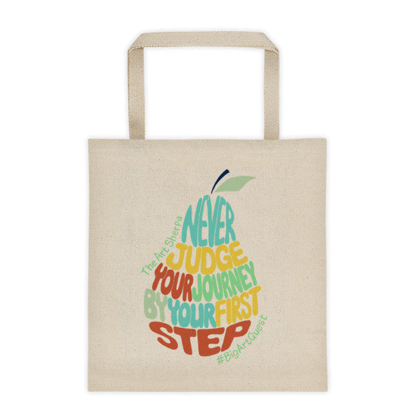 #BigArtQuest Pear Poem 12oz Tote bag