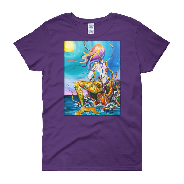 Summer's Dream Women's Fitted  short sleeve t-shirt