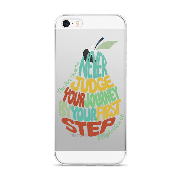 #BigArtQuest Pear Poem iPhone case