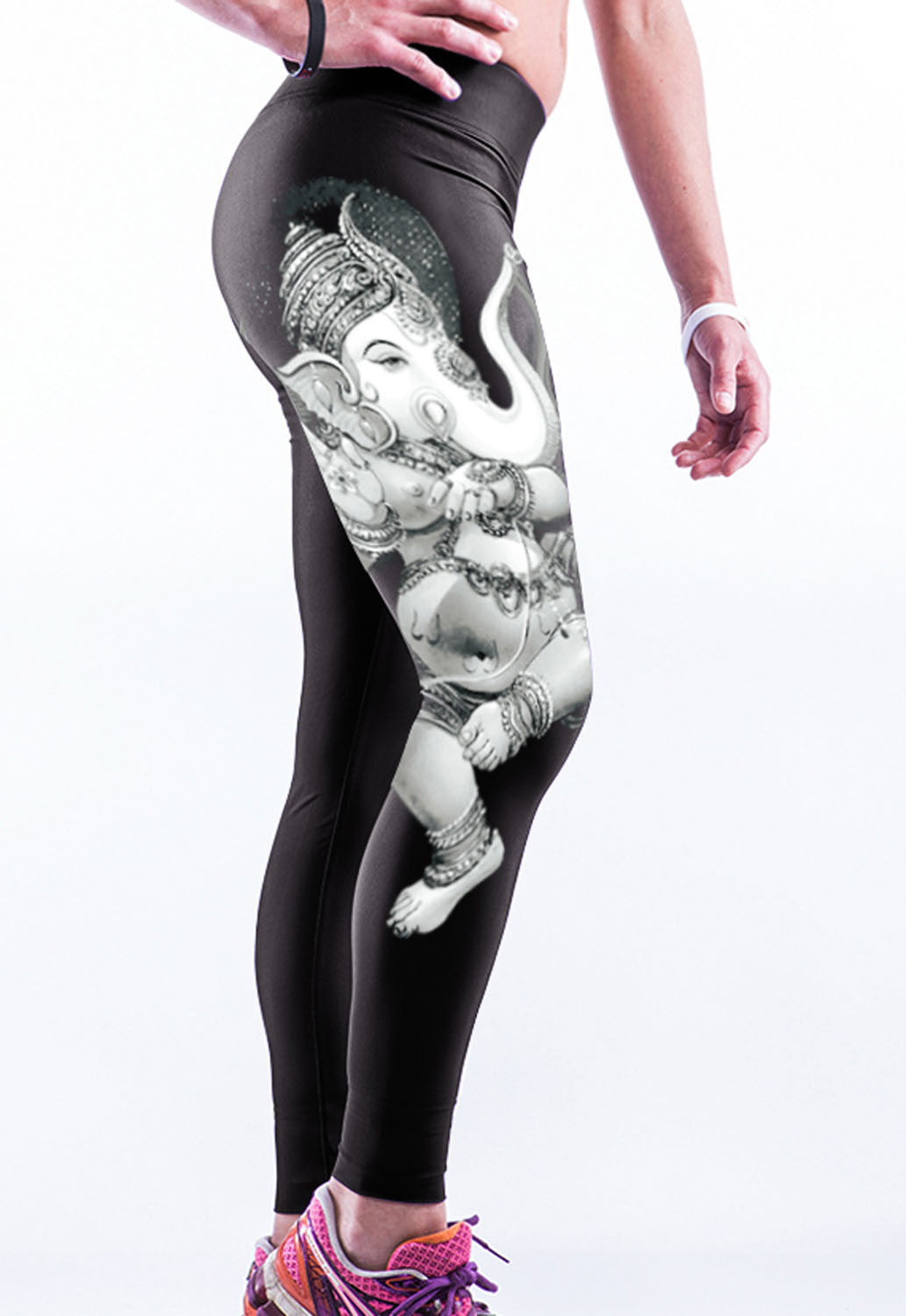 Gypsy Elephant Stretch Yoga Pants - Jahnell's Closet