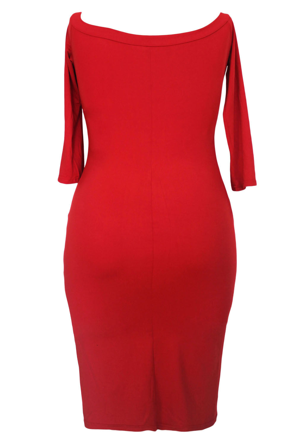 Jahnell's Closet Red Bodycon - Jahnell's Closet