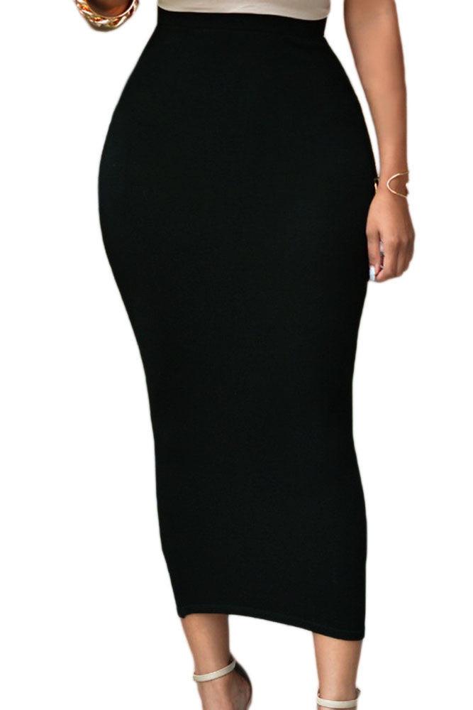 High-Waisted Maxi Skirt - Jahnell's Closet