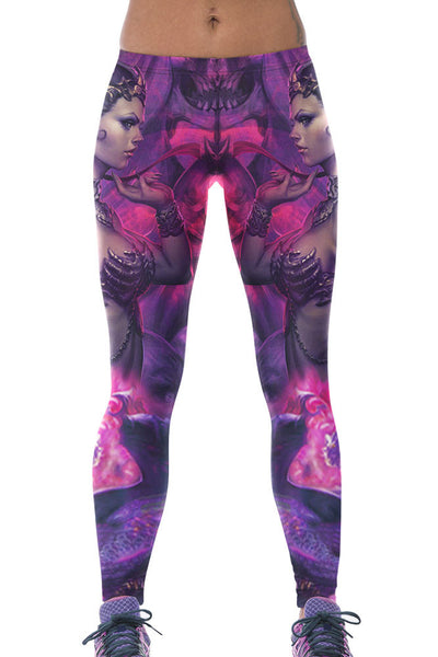 Warrior Goddess High Stretch Yoga Leggings - Jahnell's Closet
