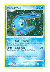 Manaphy - 9/130 - Holo Rare - Played