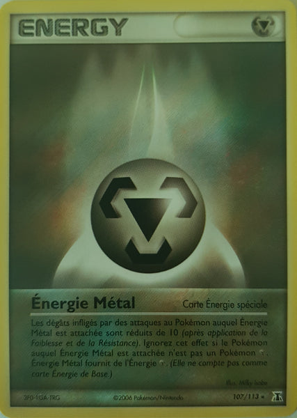 Metal Energy French - 107/113 - Rare