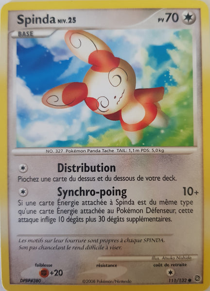 Spinda French - 111/132 - Common