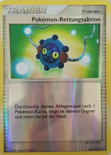 Pokemon Rescue German - 115/127 - Uncommon Reverse Holo