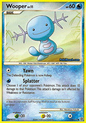 Wooper   118/132   Common Reverse Holo