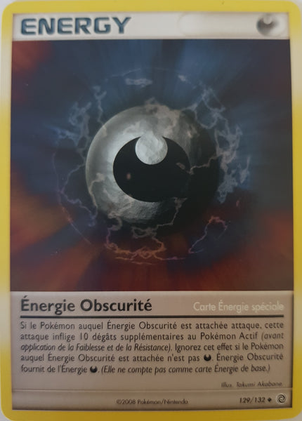 Darkness Energy French - 129/132 - Uncommon
