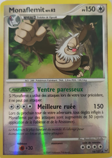 Slaking French - 16/127 - Holo Rare Reverse Holo
