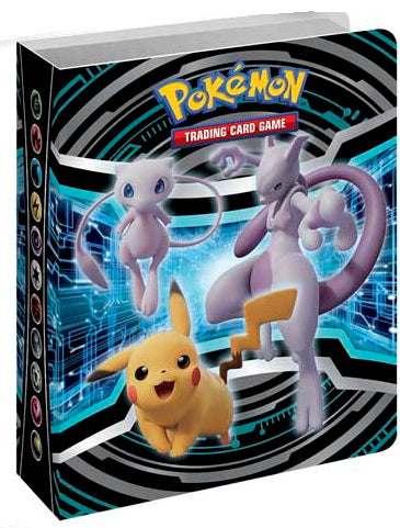 Mini Folder - Mew Mewtwo Pikachu - New, Sealed, Unused